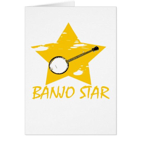 Banjo Star Card