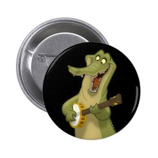 Banjo-Strummin' Gator Buttons