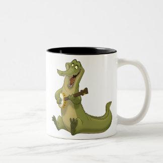 Banjo-Strummin' Gator Mug