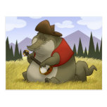 Banjo-Strummin' Gator Postcards