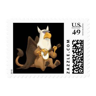 Banjo Strummin' Gryphon Stamps