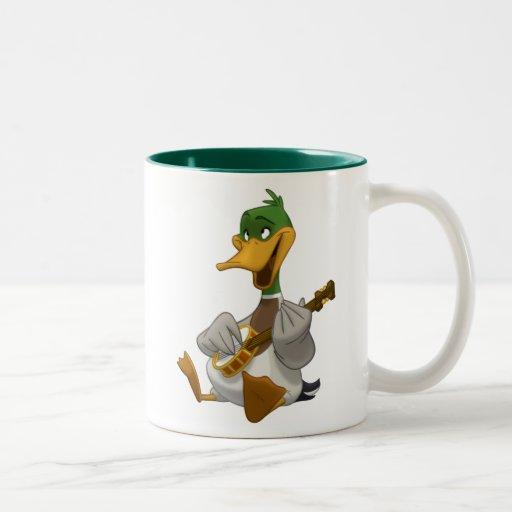 Banjo-Strummin' Mallard Mug