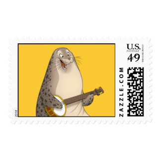 Banjo Strummin' Seal Stamps
