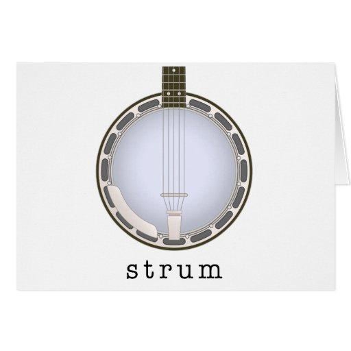 banjo tarjetas