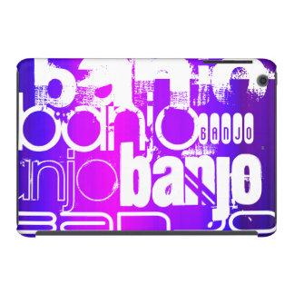 Banjo; Vibrant Violet Blue and Magenta iPad Mini Retina Cover