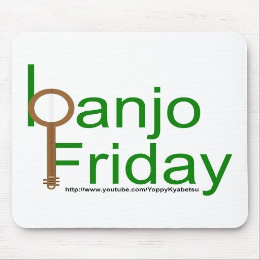 banjo viernes alfombrillas de ratones