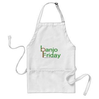 banjo viernes delantal