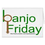 banjo viernes tarjeton