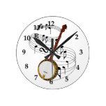 Banjo Wall Clock