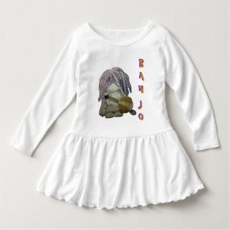 Banjo White Toddler Dress