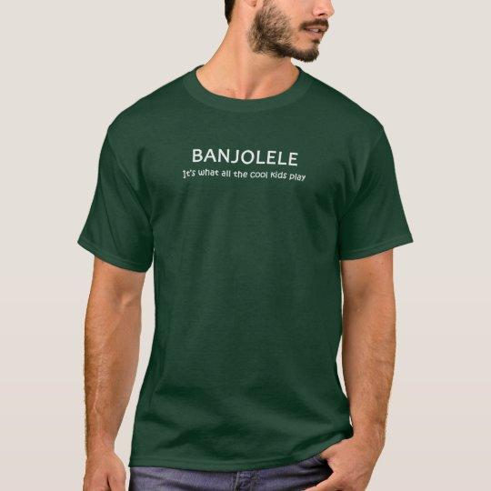 Banjolele. Es lo que juegan todos los niños Playera