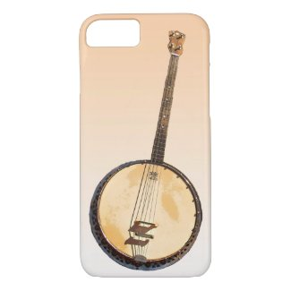 Banjos Musical Instrument iPhone 7 Case