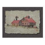 Bank Barn & Windmill Post Cards