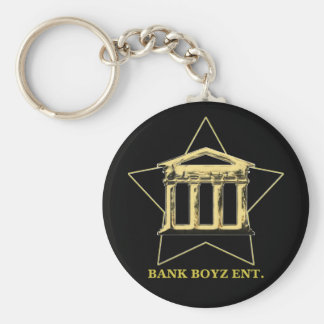 Bank Boyz Black Keychain