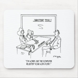 Bank Cartoon 1348 Mouse Pad
