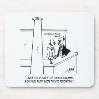 Bank Cartoon 3635 Mouse Pad