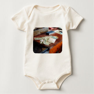 Bank Checks Dated 1923 Baby Bodysuit