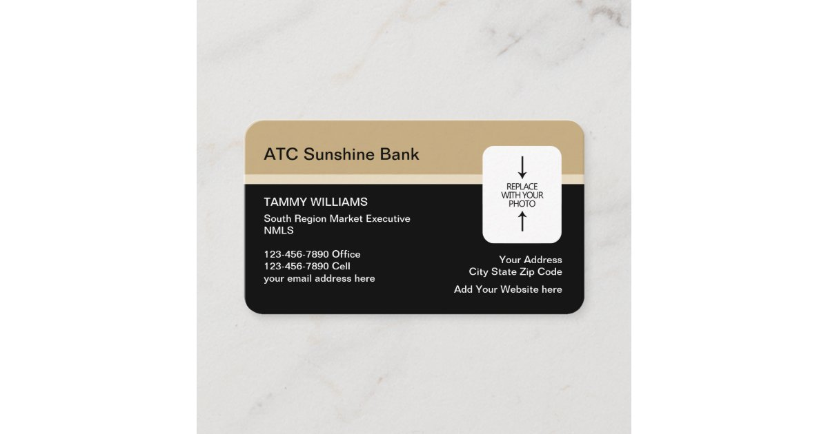 Bank Design Home.Bank Home Mortgage Broker Photo Design Business Card Zazzle