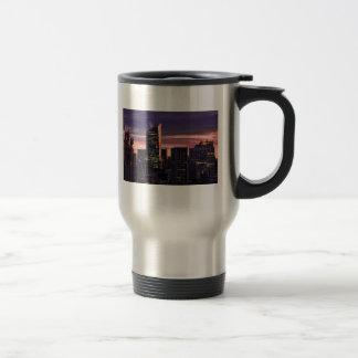 Bank of America la torre Roca 30 enseguida despué Tazas De Café