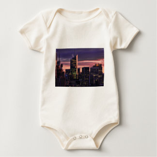Bank of America Tower, 30 Rock just after sunrise Baby Bodysuit