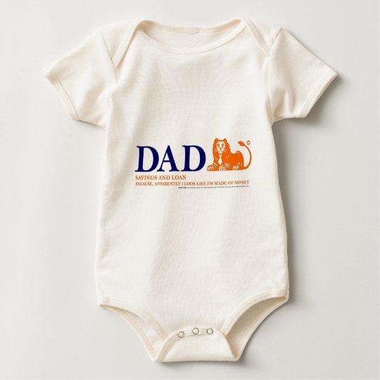 Bank of Dad 2 Baby Bodysuit