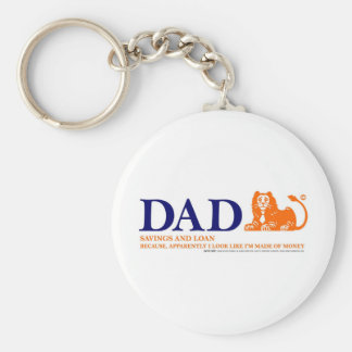 Bank of Dad 2 Key Chains