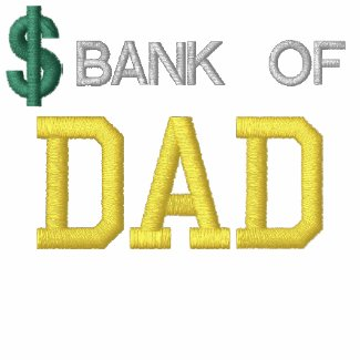 Bank Of Dad Embroidered Shirt embroideredshirt