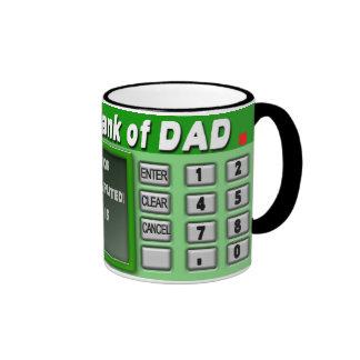 BANK OF DAD MUG - ATM MACHINE - HUMOR MUG
