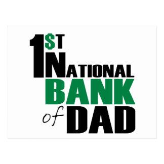 Bank of Dad Postcard