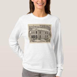 Bank of Downs, Huff Residences, Downs, Kansas T-Shirt