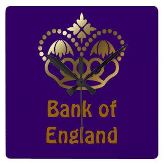 Bank of England Square Wallclocks