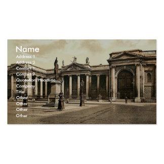 Bank of Ireland. Dublin. Co. Dublin, Ireland rare Business Card Templates
