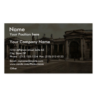 Bank of Ireland. Dublin. Co. Dublin, Ireland rare Business Card Template