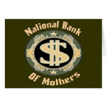Bank Of Mothers Greeting Cards