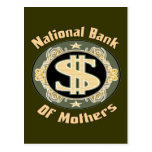 Bank Of Mothers Postcards