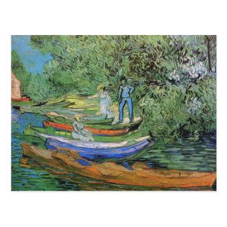 Bank of Oise at Auvers, Vincent van Gogh Postcard
