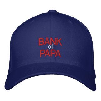 BANK of PAPA - Customizable Cap at eZaZZleMan.com