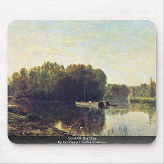 Bank Of The Oise By Daubigny Charles-François Mouse Pad
