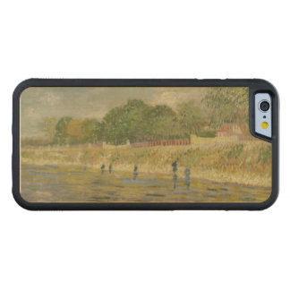 Bank of the Seine by Vincent Van Gogh Carved® Maple iPhone 6 Bumper Case
