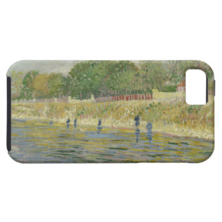 Bank of the Seine by Vincent Van Gogh iPhone 5 Case