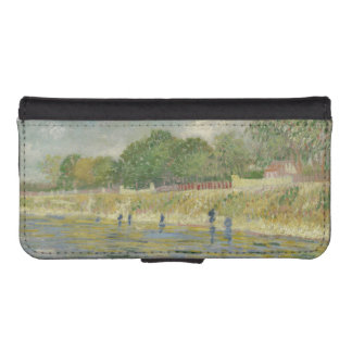Bank of the Seine by Vincent Van Gogh Phone Wallet Case