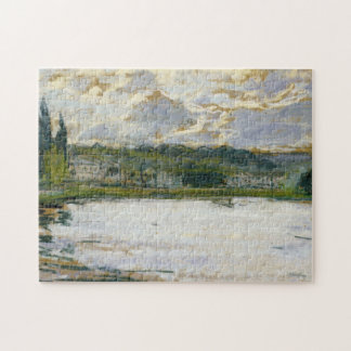 Bank of the Seine Monet Fine Art Jigsaw Puzzle