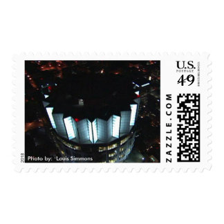 Bank One Postage Stamp