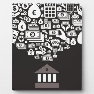 Bank Plaque