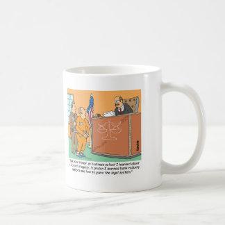 Bank Robber /Judge /Financial Coffee Mug