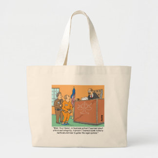 Bank Robber /Judge /Financial Tote Bag
