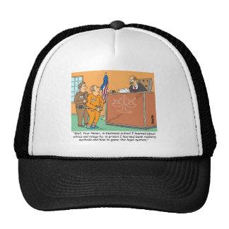 Bank Robber /Judge /Financial Trucker Hats