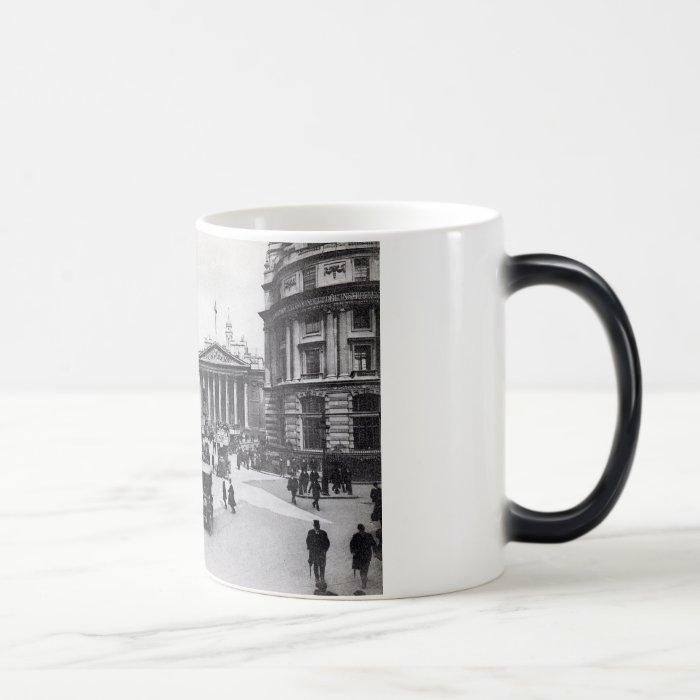 Bank & Royal Exchange, London Vintage Magic Mug