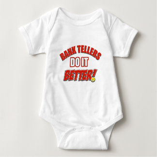 Bank Teller designs Baby Bodysuit