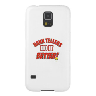 Bank Teller designs Cases For Galaxy S5